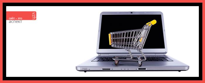 Создание интернет магазина в Аспект и его цена