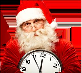 Успей получить подарок  от Деда Мороза